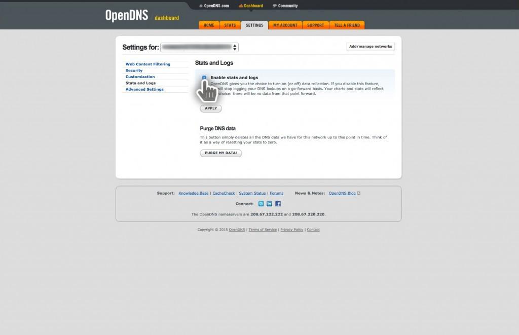 06-open-dns-configure